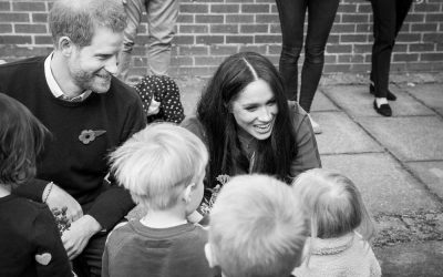 Duke and Duchess of Sussex Visit the Welsh Guards